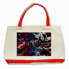 Amazing Fractal 28 Classic Tote Bag (Red)