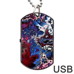 Amazing Fractal 28 Dog Tag USB Flash (One Side)