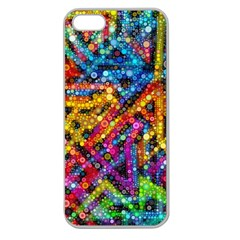 Color Play in Bubbles Apple Seamless iPhone 5 Case (Clear)