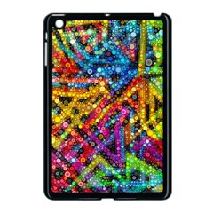 Color Play in Bubbles Apple iPad Mini Case (Black)