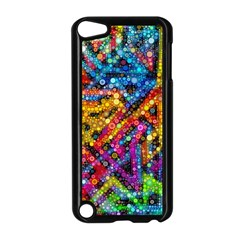 Color Play in Bubbles Apple iPod Touch 5 Case (Black)