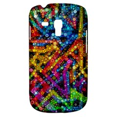Color Play in Bubbles Samsung Galaxy S3 MINI I8190 Hardshell Case