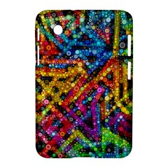 Color Play in Bubbles Samsung Galaxy Tab 2 (7 ) P3100 Hardshell Case