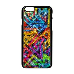 Color Play In Bubbles Apple Iphone 6/6s Black Enamel Case