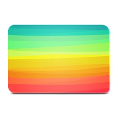 Sweet Colored Stripes Background Plate Mats