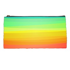 Sweet Colored Stripes Background Pencil Cases