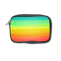 Sweet Colored Stripes Background Coin Purse