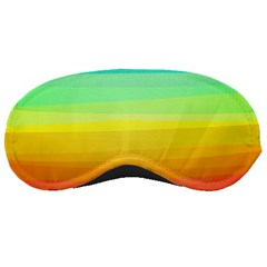 Sweet Colored Stripes Background Sleeping Masks
