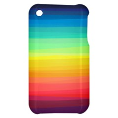 Sweet Colored Stripes Background Apple iPhone 3G/3GS Hardshell Case