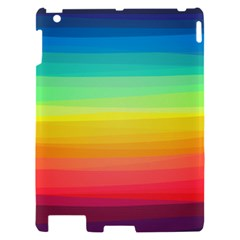 Sweet Colored Stripes Background Apple iPad 2 Hardshell Case