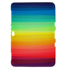 Sweet Colored Stripes Background Samsung Galaxy Tab 8.9  P7300 Hardshell Case