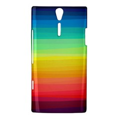Sweet Colored Stripes Background Sony Xperia S
