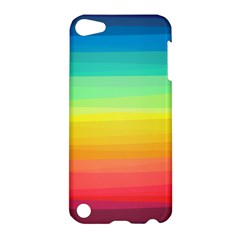 Sweet Colored Stripes Background Apple iPod Touch 5 Hardshell Case