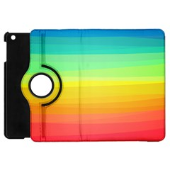 Sweet Colored Stripes Background Apple iPad Mini Flip 360 Case