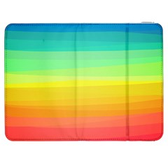 Sweet Colored Stripes Background Samsung Galaxy Tab 7  P1000 Flip Case