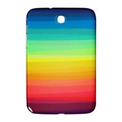Sweet Colored Stripes Background Samsung Galaxy Note 8.0 N5100 Hardshell Case