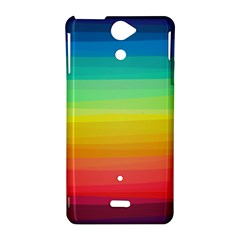 Sweet Colored Stripes Background Sony Xperia V