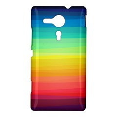 Sweet Colored Stripes Background Sony Xperia SP
