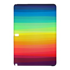 Sweet Colored Stripes Background Samsung Galaxy Tab Pro 12.2 Hardshell Case
