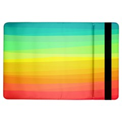 Sweet Colored Stripes Background iPad Air Flip