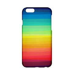 Sweet Colored Stripes Background Apple iPhone 6/6S Hardshell Case