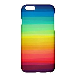 Sweet Colored Stripes Background Apple iPhone 6 Plus/6S Plus Hardshell Case