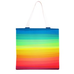 Sweet Colored Stripes Background Grocery Light Tote Bag
