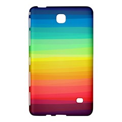 Sweet Colored Stripes Background Samsung Galaxy Tab 4 (7 ) Hardshell Case