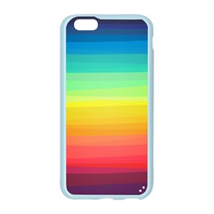 Sweet Colored Stripes Background Apple Seamless iPhone 6/6S Case (Color)
