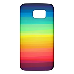 Sweet Colored Stripes Background Galaxy S6