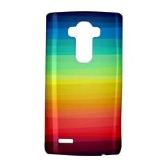 Sweet Colored Stripes Background LG G4 Hardshell Case