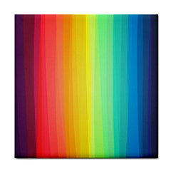 Sweet Colored Stripes Background Tile Coasters