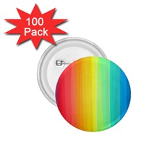 Sweet Colored Stripes Background 1.75  Buttons (100 pack)