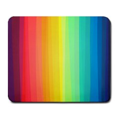 Sweet Colored Stripes Background Large Mousepads