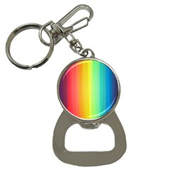 Sweet Colored Stripes Background Bottle Opener Key Chains
