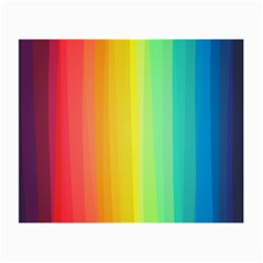 Sweet Colored Stripes Background Small Glasses Cloth (2-Side)