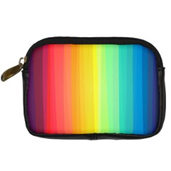 Sweet Colored Stripes Background Digital Camera Cases