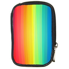 Sweet Colored Stripes Background Compact Camera Cases