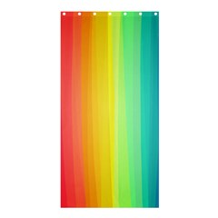 Sweet Colored Stripes Background Shower Curtain 36  x 72  (Stall)