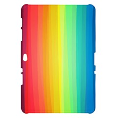 Sweet Colored Stripes Background Samsung Galaxy Tab 10.1  P7500 Hardshell Case