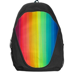 Sweet Colored Stripes Background Backpack Bag