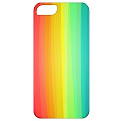 Sweet Colored Stripes Background Apple iPhone 5 Classic Hardshell Case