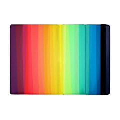 Sweet Colored Stripes Background Apple iPad Mini Flip Case