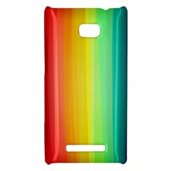 Sweet Colored Stripes Background HTC 8X