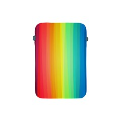 Sweet Colored Stripes Background Apple iPad Mini Protective Soft Cases