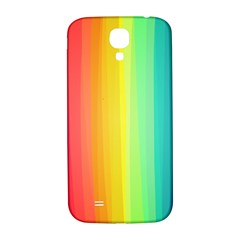 Sweet Colored Stripes Background Samsung Galaxy S4 I9500/I9505  Hardshell Back Case
