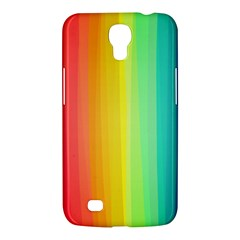 Sweet Colored Stripes Background Samsung Galaxy Mega 6.3  I9200 Hardshell Case