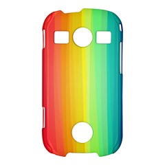 Sweet Colored Stripes Background Samsung Galaxy S7710 Xcover 2 Hardshell Case