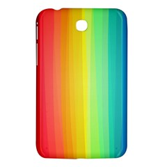 Sweet Colored Stripes Background Samsung Galaxy Tab 3 (7 ) P3200 Hardshell Case