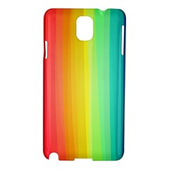 Sweet Colored Stripes Background Samsung Galaxy Note 3 N9005 Hardshell Case